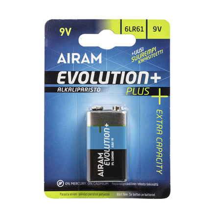 Airam Evolution Plus 6LR61 1st/blister